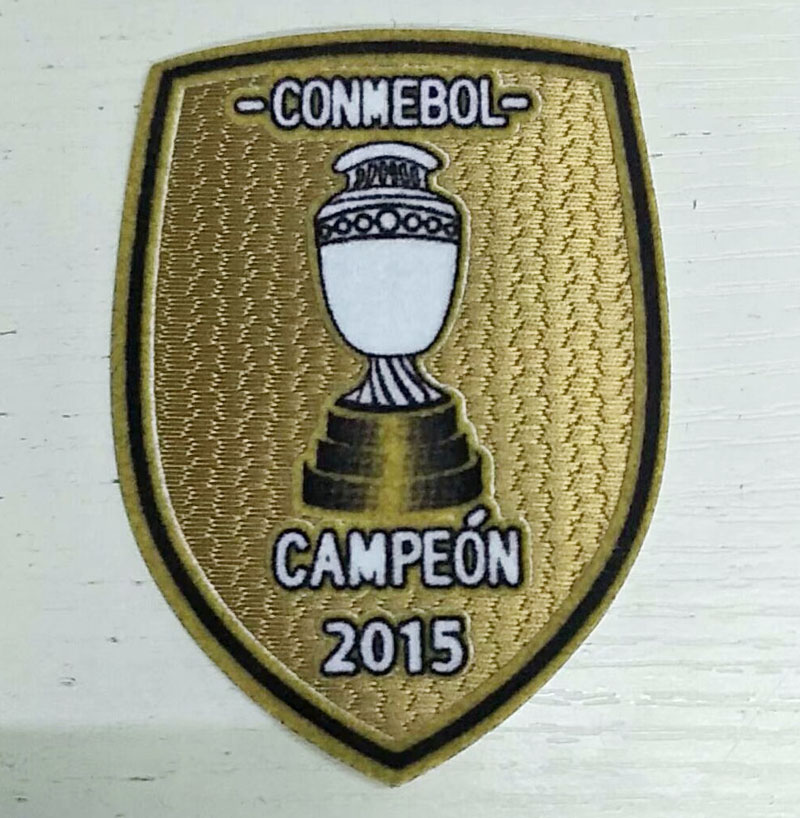 2015 chile campeon patch
