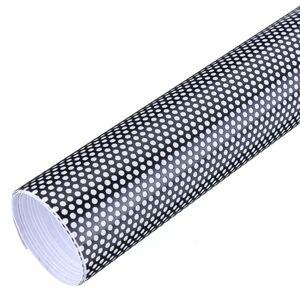 Image 5 - 107cm*30cm Hollow Automobile Lamp Film Grid Side Shield STICKER BLACK Headlamp Taillight Film Honeycomb Pattern