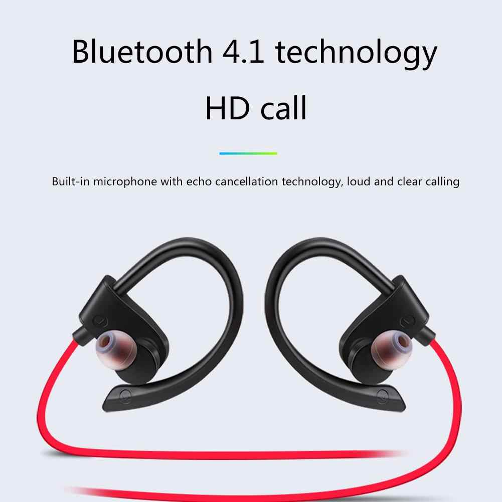 47d8d493772 4.2 Bluetooth Sweat-Proof Wireless Earphones With Microphone Sports Gym Sports  Running New Headphones Dropship