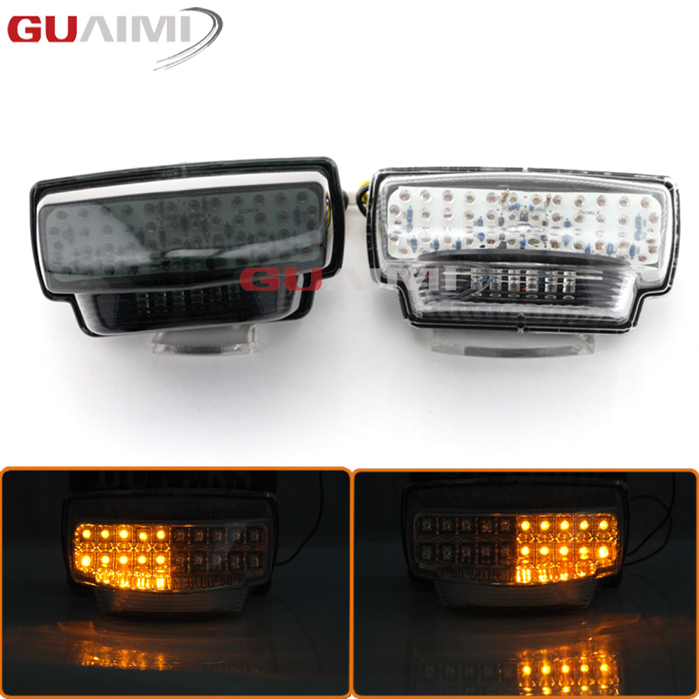 For Honda CBR600RR CBR 600 RR 2007 2008 2009 2010 2011 2012 Motorcycle Rear Tail Light Brake Turn Signals Integrated LED Light стоимость