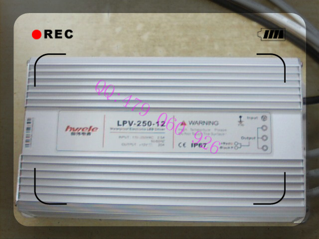[ZOB] Heng Wei waterproof switching power supply 12V20A LPV-250-12 250W