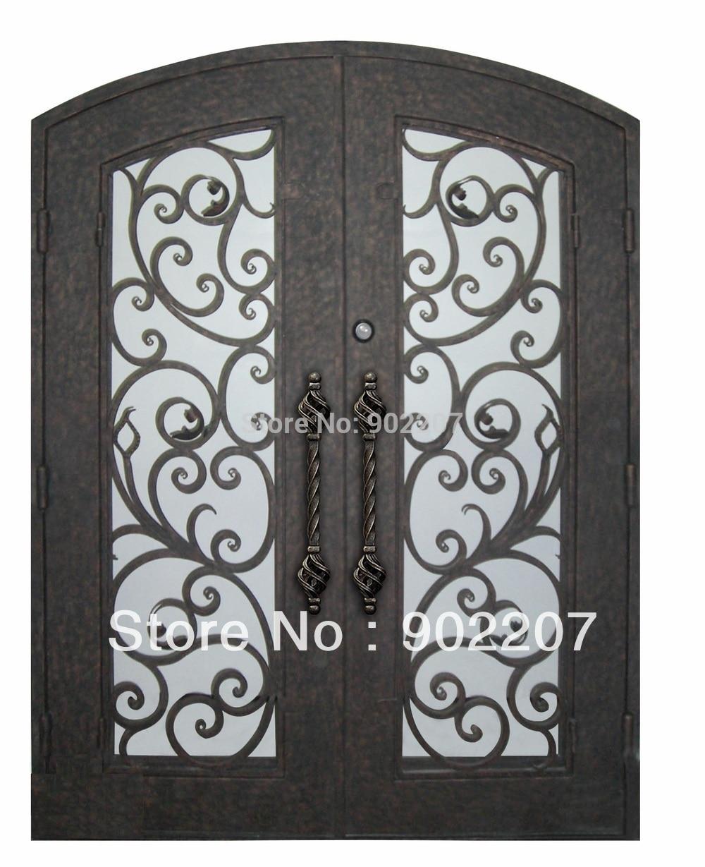 iron patio doors wrought iron single entry doors