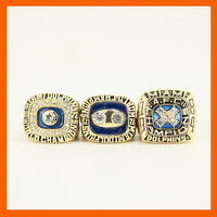 1984 1972 1973 MIAMI DOLPHINS FOOTBALL CHAMPIONSHIP RING 3 RINGS AS A COLLECTIONS US SIZE 11