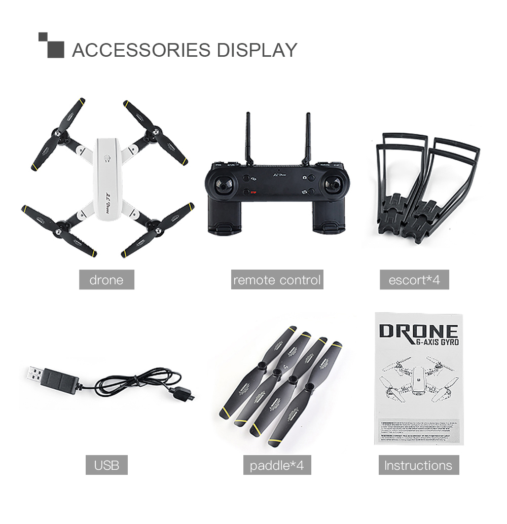 SG700 SG700S Drone With Camera 1080P/7P HD Full camera Dron RC Drone Professional Smart follow, gesture control VS S drone 18