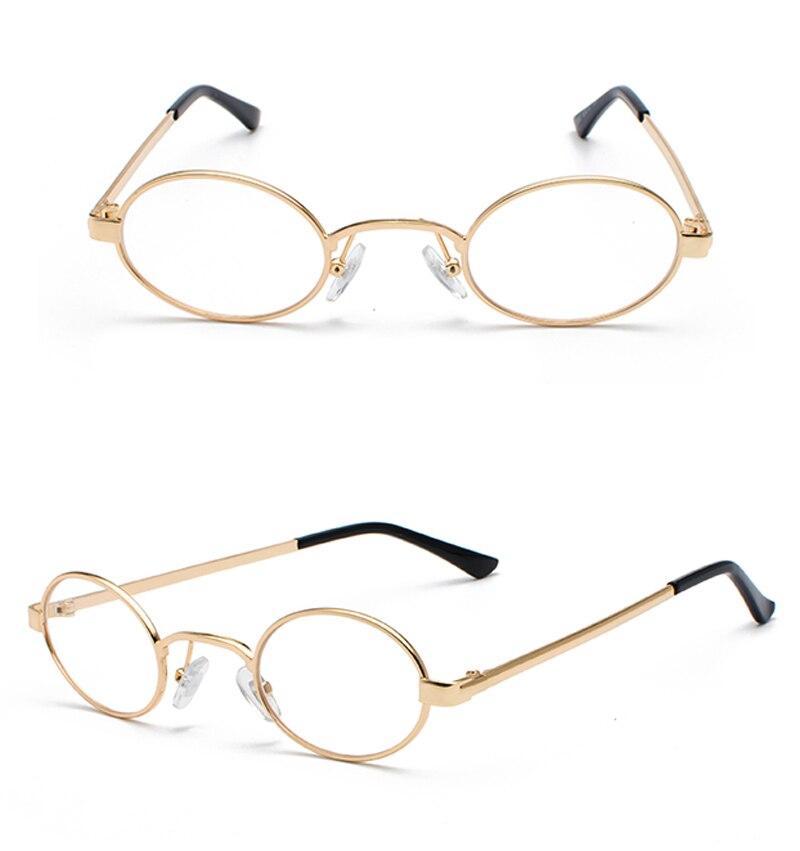 Tiny Oval Sunglasses Men detail (12)