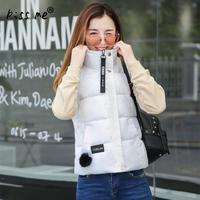2017 New Ladies Vest Coat Slimming Fashion Style Autumn Winter Solid Top Design Veste Femme Coat