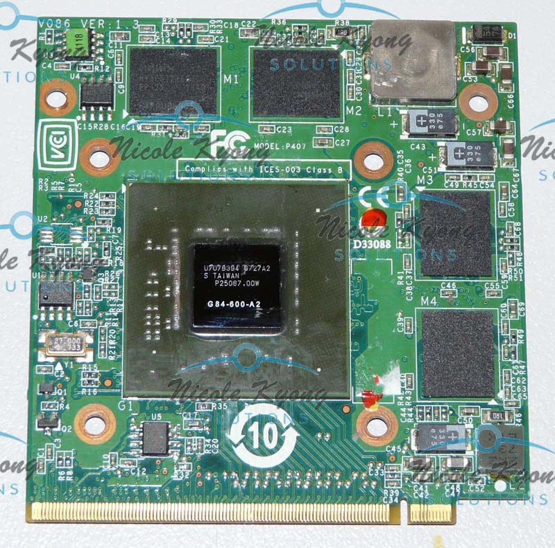 8600M GT DDR2 256M MXMII VGA Video card for TravelMate 4730G 5520G 5530G 5710G 5720G 5730G 6593G 7520G 7530G 7720G 7730G est for a c e r aspire 5920g 5920 5520g 5520 mxm ii ddr2 1gb graphics vga video card replace n v i d i a geforce 9650m gt