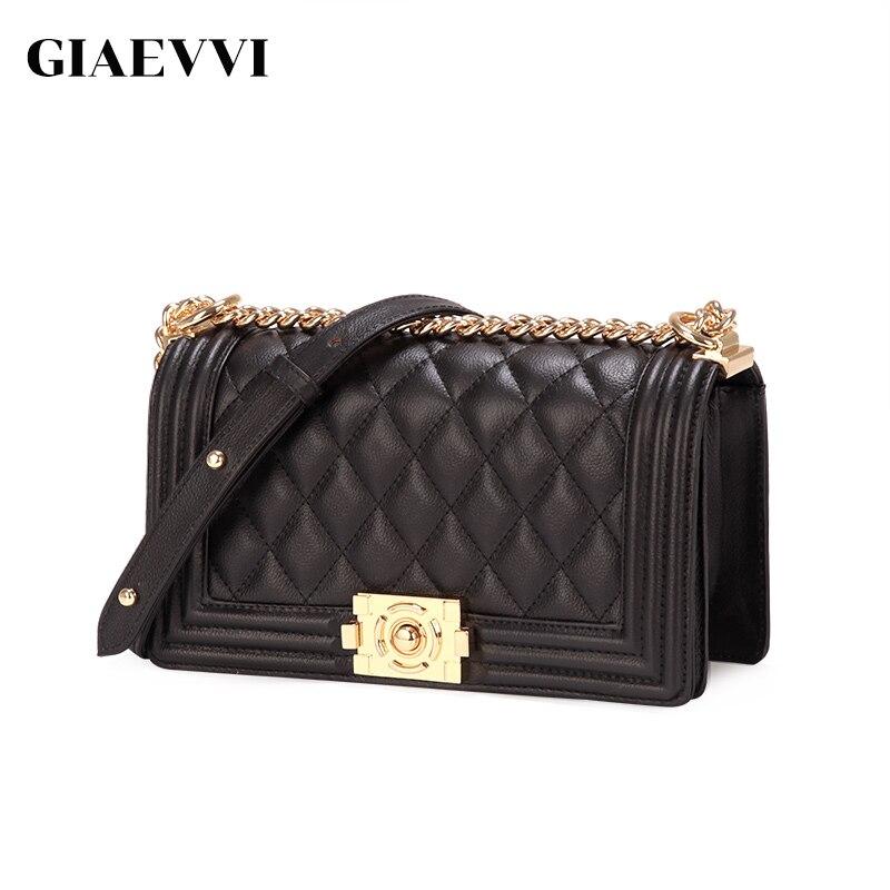 GIAEVVI femmes sac à bandoulière designer luxe sacs à main en cuir véritable sac à main 2018 petit sac femmes messenger sacs dames bandoulière