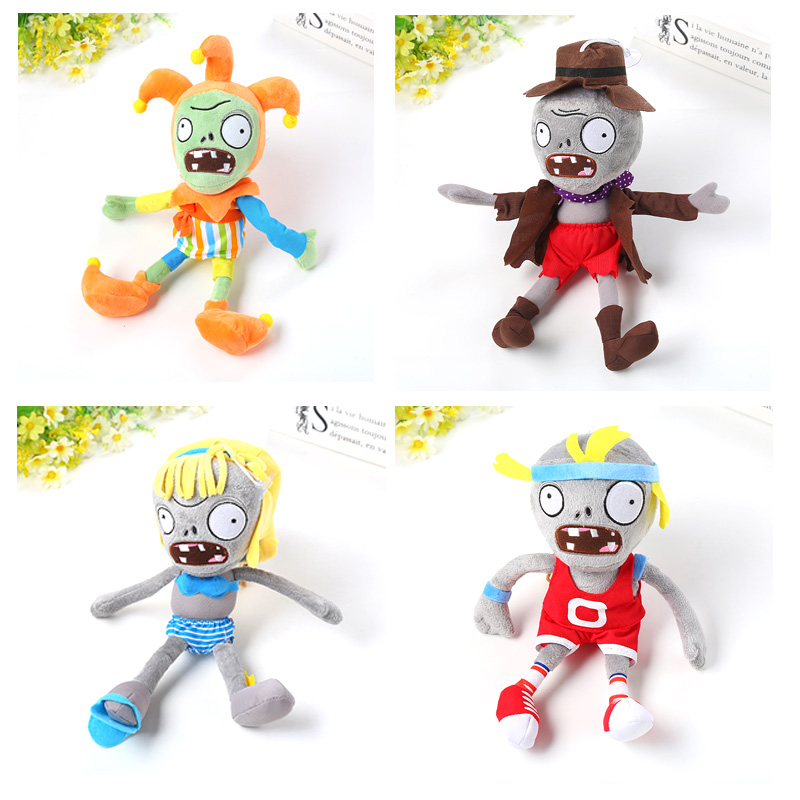 HOT21 Styles Plants vs Zombies Plush Toys 30cm Plants vs Zombies Soft Stuffed Plush Toys Doll Baby Toy for Kids Gifts Party Toys