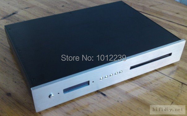 цены  hot sale CD case / aluminum chassis / CD case / home audio amp chassis/DIY audio chassis