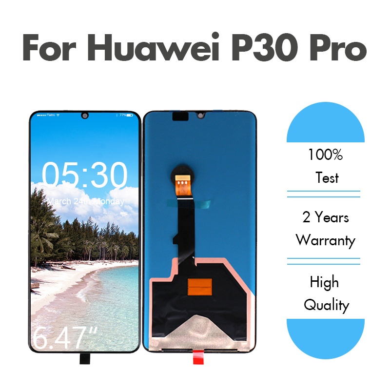 Assembly Pro-Display Huawei P30 Original Digitizer Touch-Screen For By DHL EMS LCD 10pcs/Lot