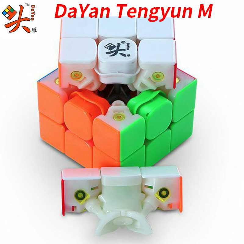 Dayan TengYun M 3x3x3 V8 Magnetic Magic Cube Champion Competition Professional Cube Toys Gift Game 3x3x3 Kids Educational Toys image