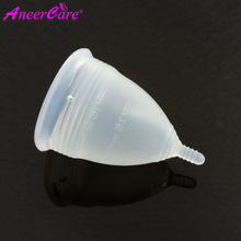 200 cái/lốc Bán Buôn reusable coupe menstruelle aneer lady silicone kinh nguyệt cup copo kinh nguyệt chăm sóc copo kinh nguyệt de silicone