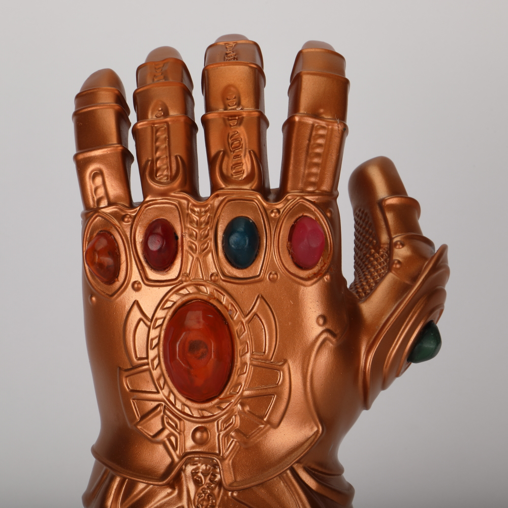 Avengers 4 Endgame Thanos Infinity Gauntlet Cosplay Arm Thanos Latex Gloves Arms Armor Marvel Superhero Weapon Party Props (4)