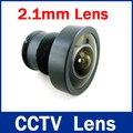 Cantidad de alta Seguridad 1/3 Amplia Gama de lentes de 2.1mm 150 grados de ángulo ancho 1 Lente de CCTV Cámara de INFRARROJOS