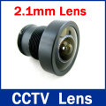 High Quantity Security 1/3 Wide Range lens  2.1mm 150 degrees wide angle 1 Lens for IR CCTV Camera