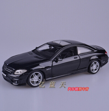 Mercedes Benz CL63 AMG Maisto 1 24 Original simulation alloy car models Fast Furious Coupe Top