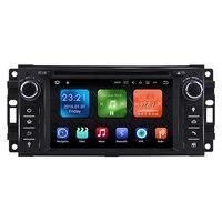 6,2 android автомобильный Радио Аудио Sat Nav Головное устройство для Jeep Wrangler Компас командир Grand Cherokee Chrysler Sebring 300C dodge