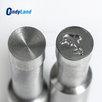CandyLand Dolphin Milk Tablet Die 3D Punch Press Mold Candy Punching Die Custom Logo Calcium Tablet Punch Die For TDP1.5 Machine