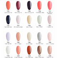 20 PCS/Set 15ml UV Gel Nail Polish Manicure Soak Off Long Lasting Led Vernis Esmalte Permanente Gel Varnish Gellak for Nails Art
