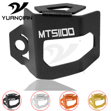 For DUCATI Multistrada 1100 Motorcycle Rear Brake Fluid Reservoir Guard Cover Protect MTS DS