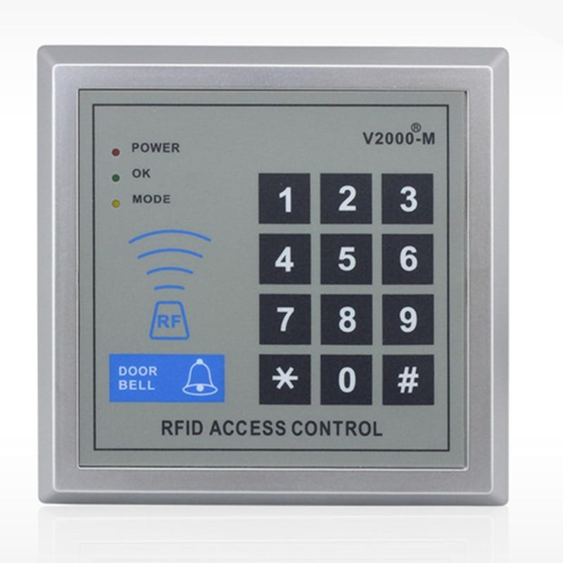 1000 User   ID Card Password Non-Contact  Door Access Control user