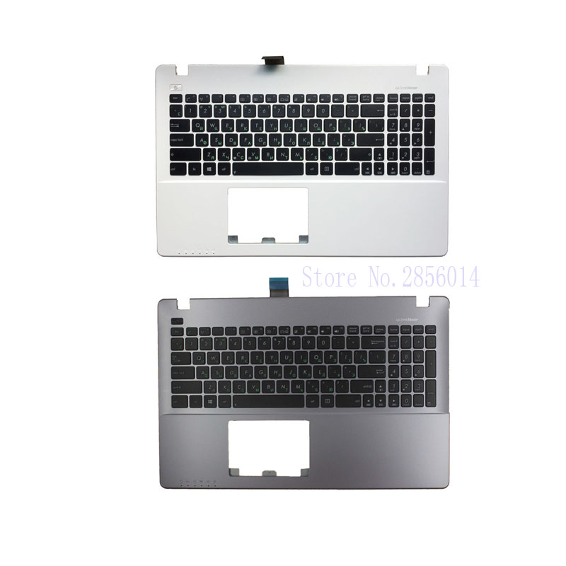 NEW Russian Laptop Keyboard for ASUS X552 X552C X552MJ X552E X552EA X552EP X552L X552LA X552CL RU Keyboard Palmrest Upper samsung rs 552 nruasl