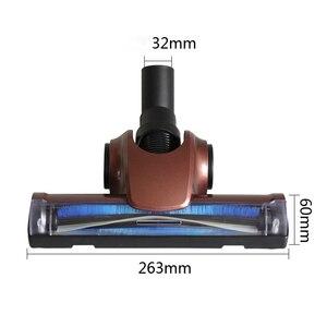 Image 1 - 32mm ar driven turbo cabeça da escova de chão ferramenta para philips electrolux vax miele henry aspirador de pó cabeça substituição peças