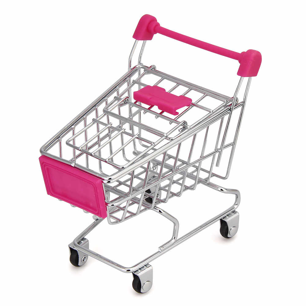 Cozinha rack de armazenamento de mini carrinho de compras carrinho com rodas caixa de armazenamento de cosméticos área de trabalho caixa de armazenamento criativo detritos recipiente