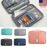 Nieuwe Paspoort Portemonnee Paspoorthouder Multifunctionele Creditcard Pakket ID Document Multi-Card Storage Pack Clutch