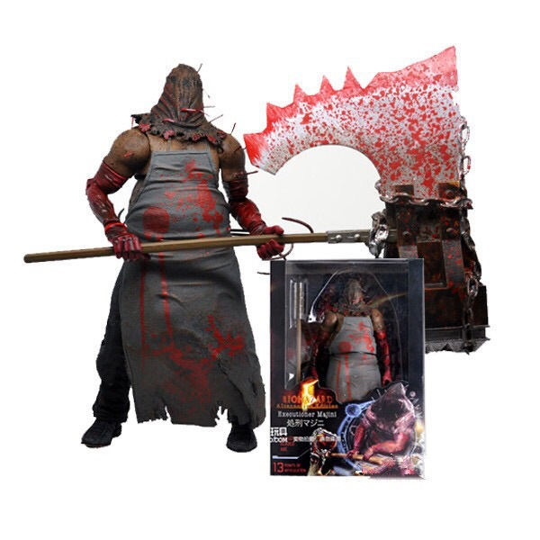 NECA Resident Evil Biohazard Executioner Majini 7 18cm PVC Action Figure Collectible Model Toy Halloween Gift 18cm neca the evil dead ash vs evil dead ash williams eligos pvc action figure collectible model toy 18cm kt3427