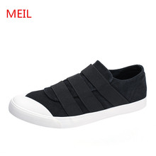 MEIL 2018 new Mens casual shoes man flats breathable Men loafers fashion outdoor canvas Shoes for sneakers