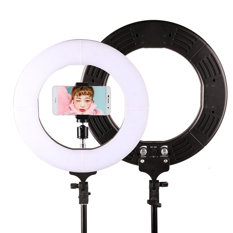 GSKAIWEN RL-12 3200K-5500K Fotografi Studio Ring Lampa Med Stativ - Kamera och foto - Foto 4