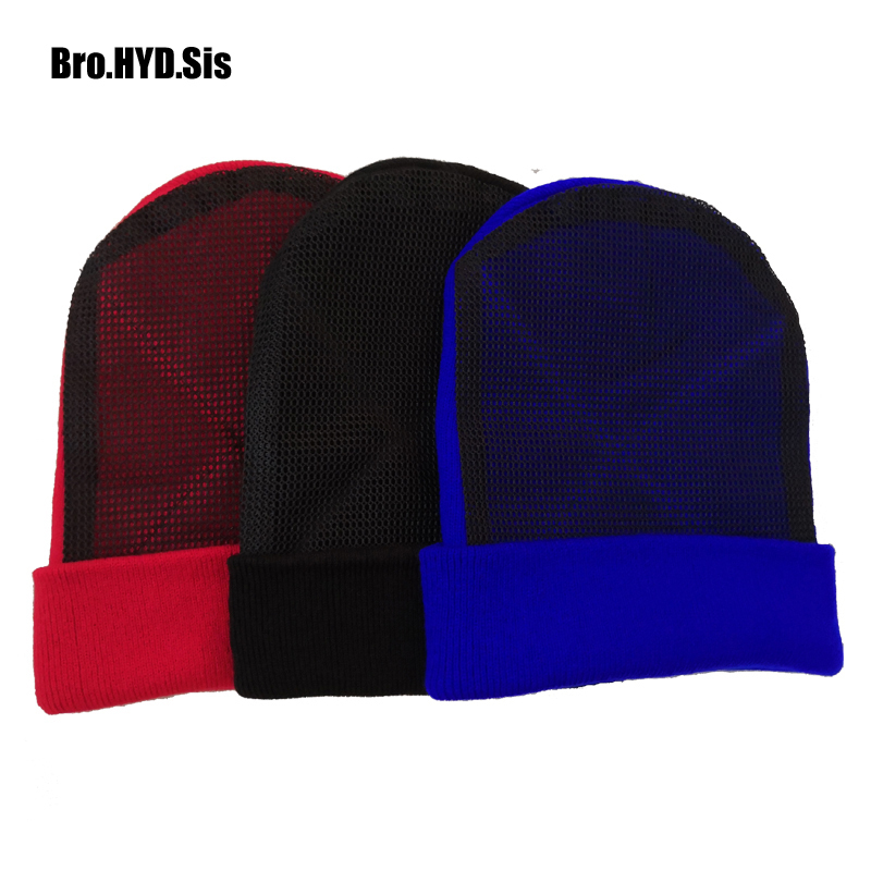 Beanies Spin-Hat Knitted Breaking Dance Black Bboy Cotton Professional