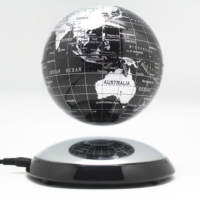 6 inch creative magnetic levitation floating globe world map the 6 inch creative magnetic levitation floating globe world map the best desktop decor christmas company anniversary gumiabroncs Images