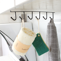 6 Hooks   Kitchen     Storage   rack Wardrobe Hanging Cup Of Coffee Organizer Wardrobe Clothes Rack Wardrobe Glass Mug Holder TSLM2