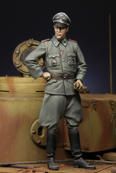 цена 1:35 German officer in Kursk 1943 5