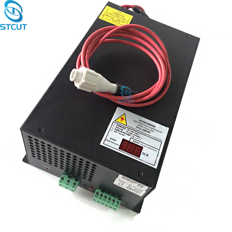 NEW PSU MYJG-100W CO2 laser power supply unit with LED Currency MA DIY Engraving Cutting Machine 80W 100Wat EFR Reci Weiju Tube рулонная штора волшебная ночь 120x175 стиль прованс рисунок emma