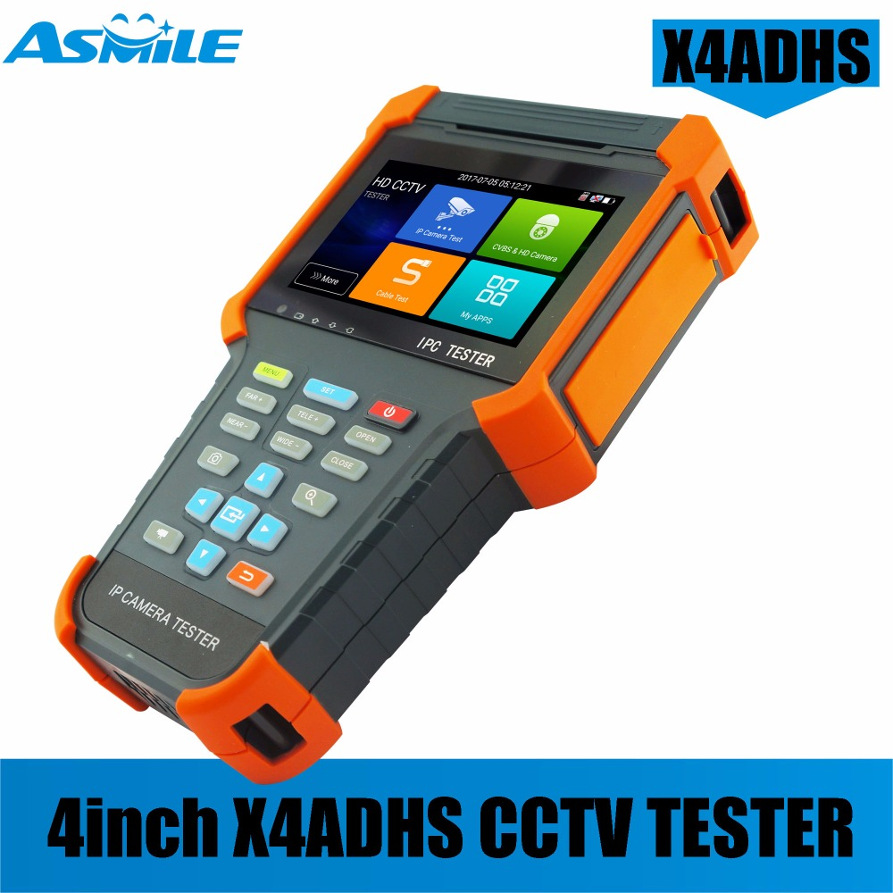 2018 Cheapest 4 Inch Android System Wifi Cctv Ipc Tester Monitor With HDMI Input