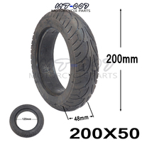 Motorcycle 200x50 tire Solid tyres for motorcycle Self Balancing Hoverboard Razor Electric Scooter