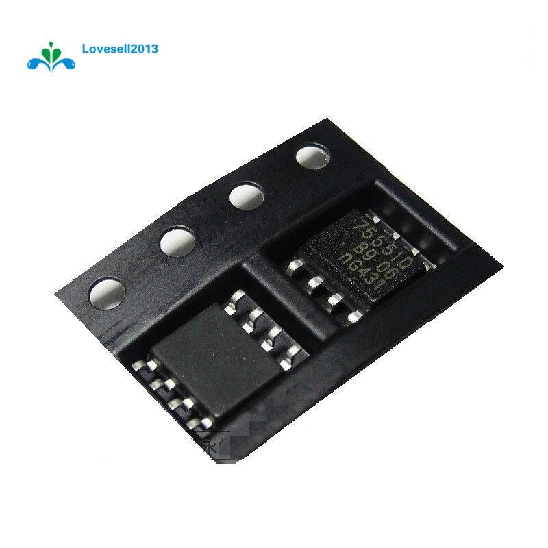 10Pcs ICM7555ID 7555 SOP-8 General Purpose CMOS Timer NEW GM