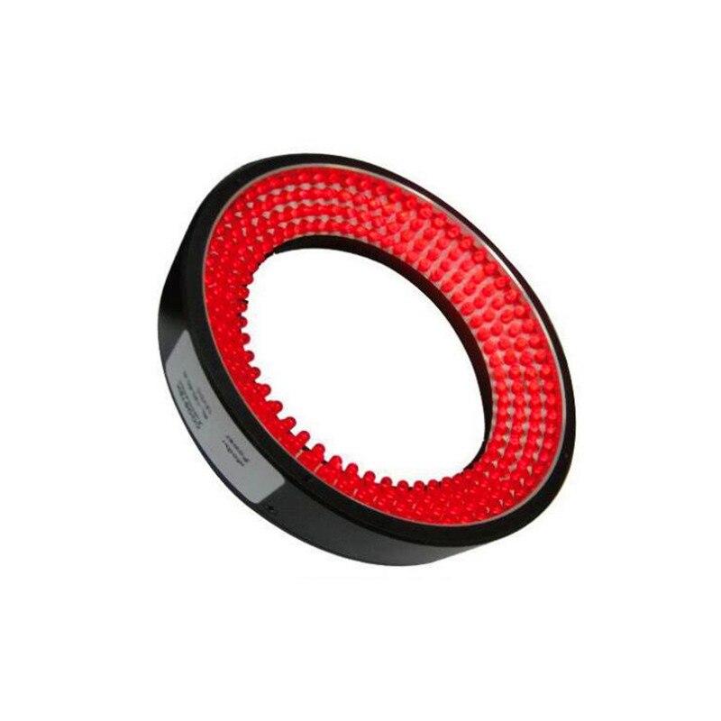 RL245-20 LED Ring Light Machine Vision Lights 200mm Aperture Large Area Lighting Red DC24v Special Light Source