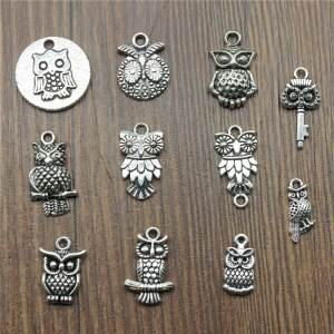 WYSIWYG 15pcs/lot Color Pendants Small Making Jewelry