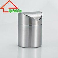 Envío Gratis acero inoxidable puede mini permanente forma redonda Tipo de la cubierta del balanceo buchet para cocina Herramientas