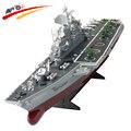 Barco rc 1: 275 4ch controle remoto challenger navio de guerra modelo ht-2878a aeronave transportadora de alta-velocidade eletrônico grande para crianças toys