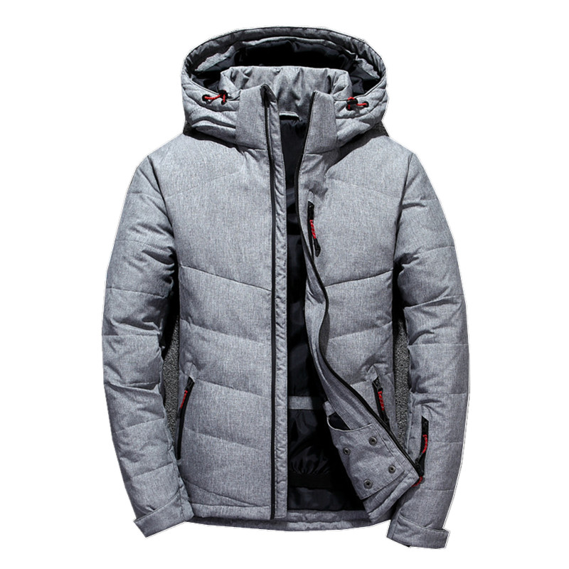 Downs   Jackets Men 2018 New White Duck Thick   Down   Jacket Men   Coat   Snow Parkas Male Warm Brand Clothing