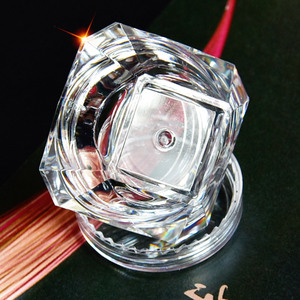 Image 3 - Wholesale 5g (5ml, 0.17oz) Clear 100Pcs Cosmetic Empty Jar Pot Eyeshadow Makeup Face Cream Lip Balm Container Box (Diamond)