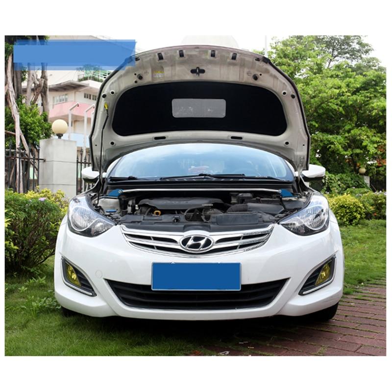 LSRTW2017 car hood sound insulation cotton for hyundai elantra 2010 2011 2012 2013 2014 2015 2016 2017 2018