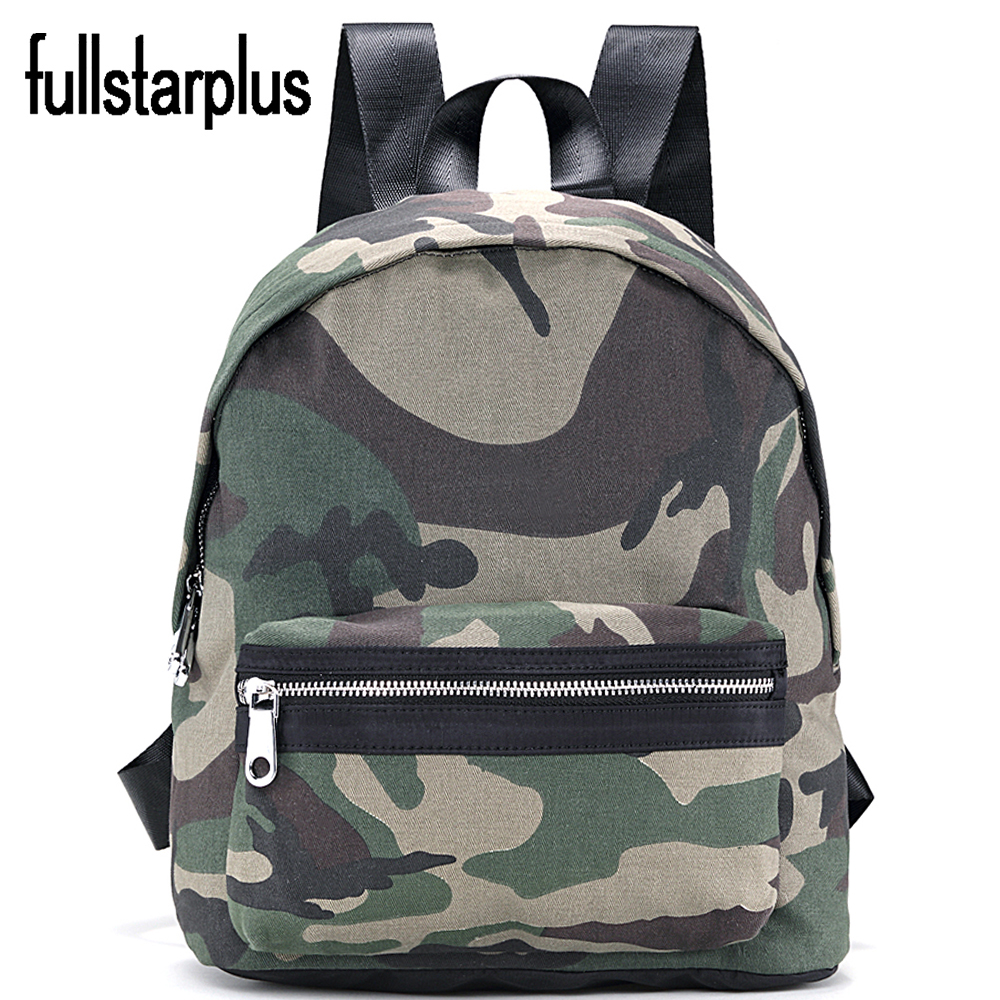 Women Backpack 2017 Hot Sale Fashion camouflage Backpacks ...