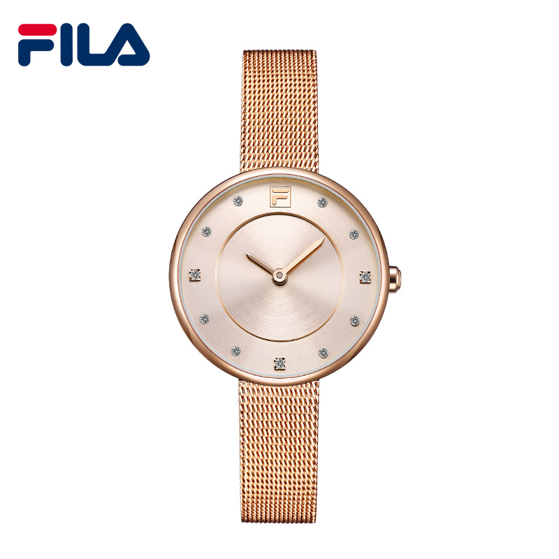 Fila Luxury Quartz Watches Fashion Watch Women Dress Relogio Feminino Waterproof Steel Gold Bracelet Watches Relojes Mujer 721 guanqin quartz watches fashion watch women dress relogio feminino waterproof tungsten steel gold bracelet watches relojes mujer